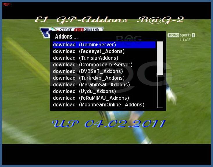 ������ ������� ����� ����� :GP-Addons E1